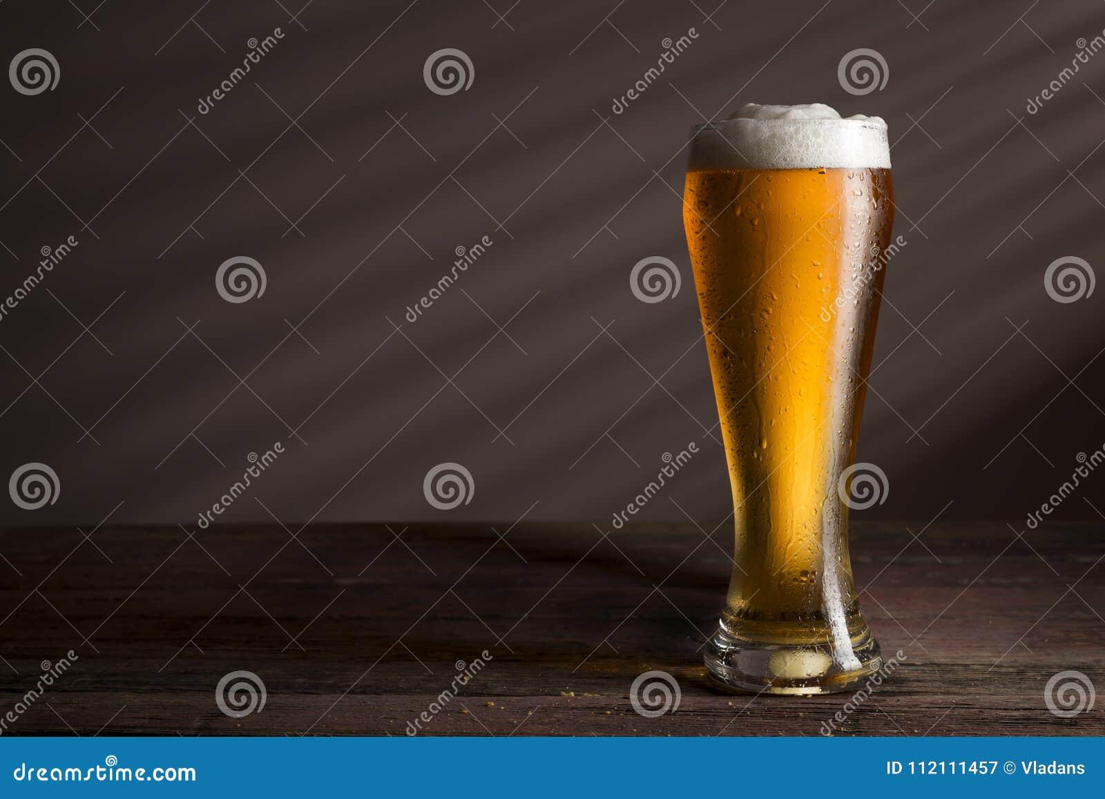 Kallt ljust öl
