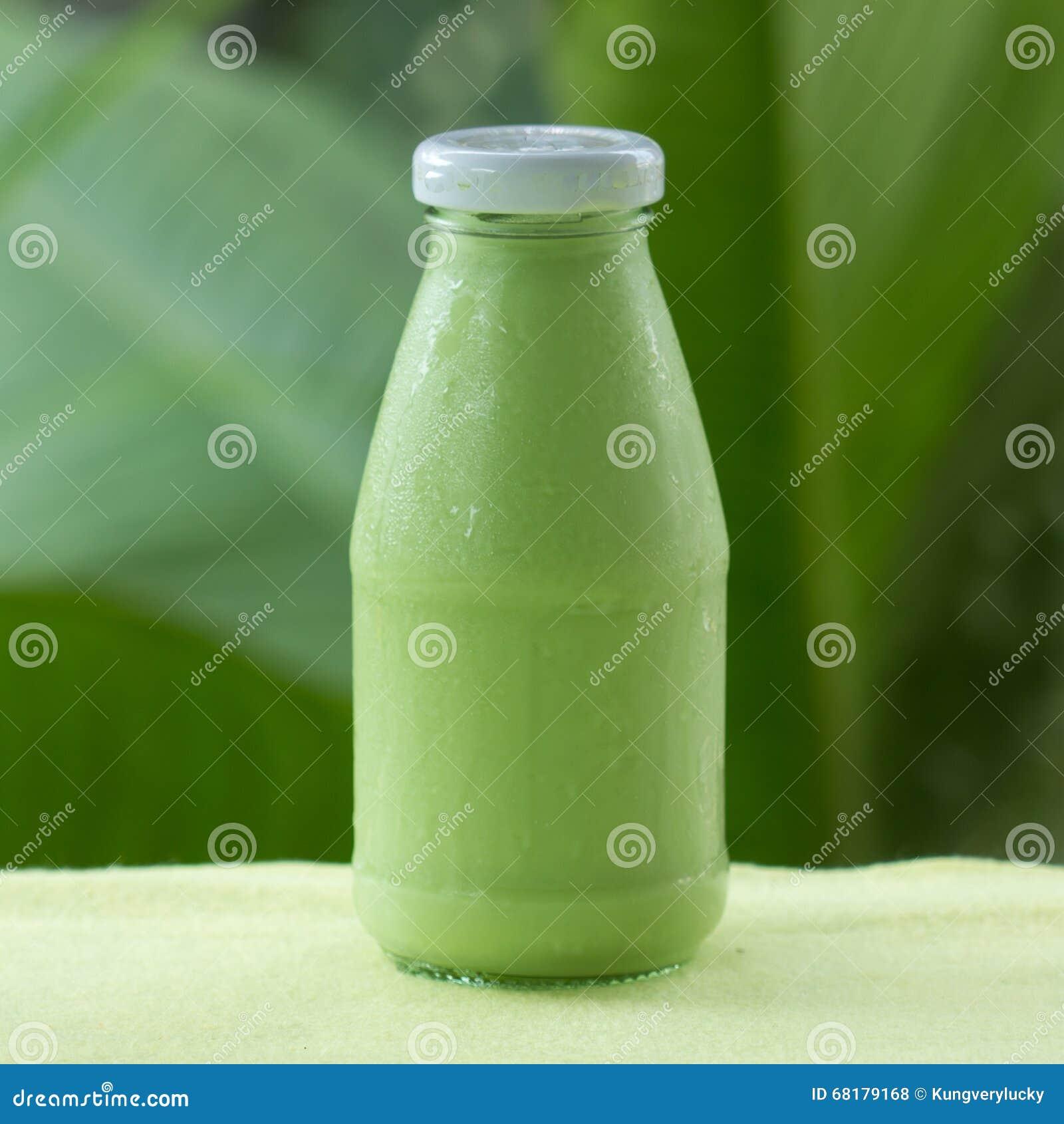 Kalter Gruner Tee Matcha Stockfoto Bild Von Diat Suss 68179168