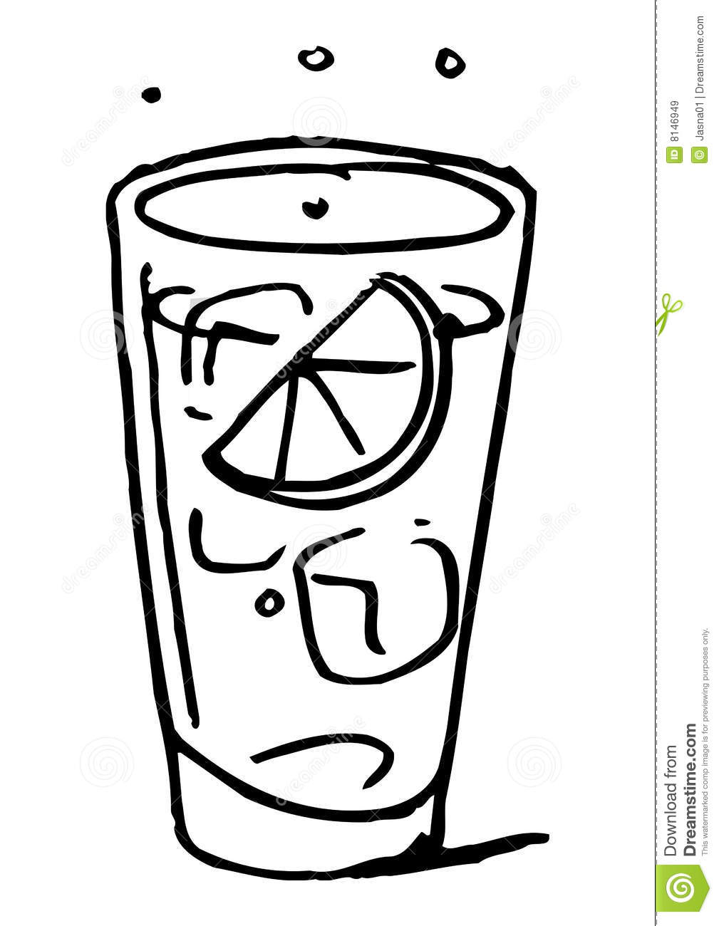 iced teas coloring pages - photo#18