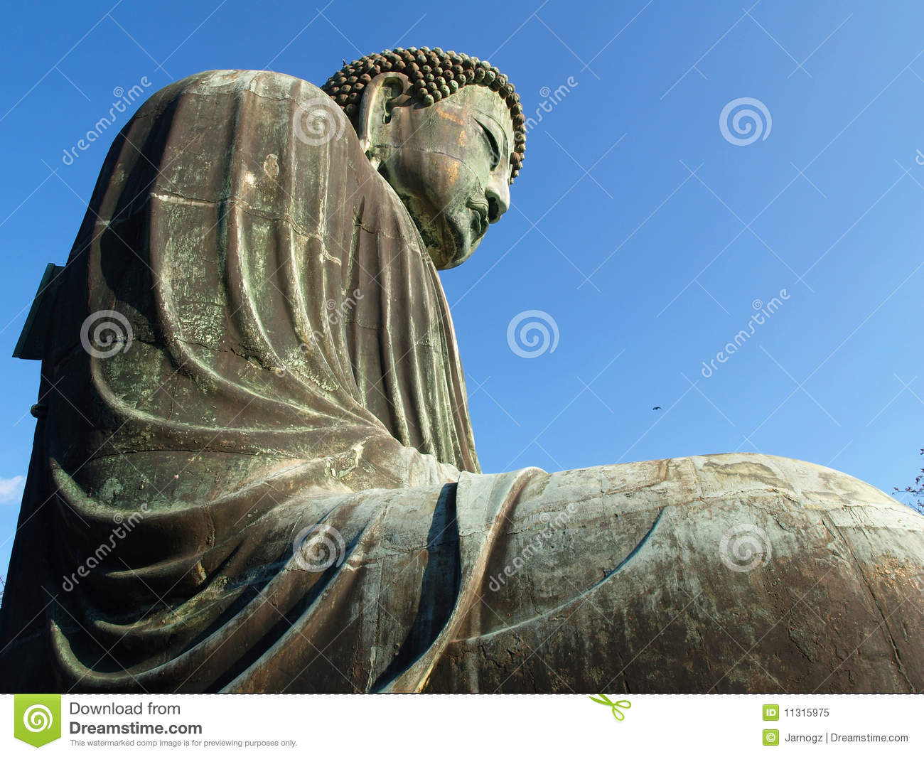 kamakura gro e buddha statue lizenzfreies stockfoto bild 11315975. Black Bedroom Furniture Sets. Home Design Ideas