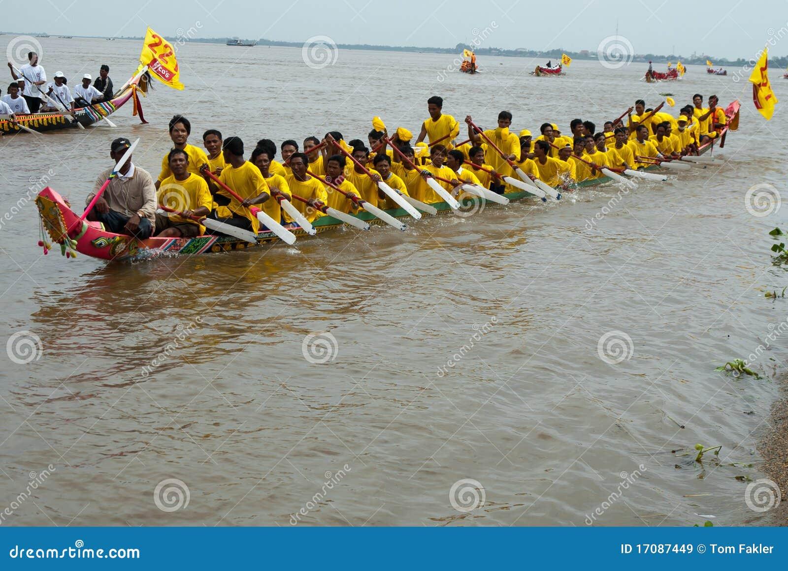 Kambodschanische WasserRegatta