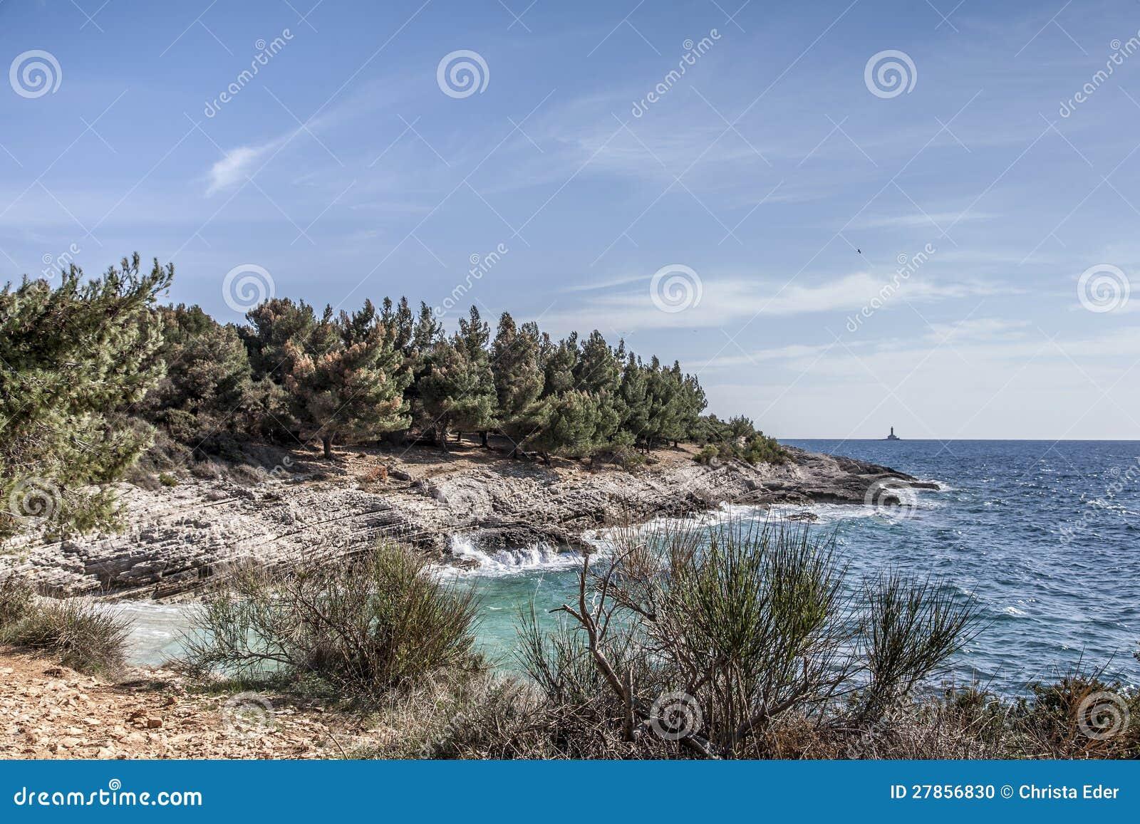 Kamenjak w Istria