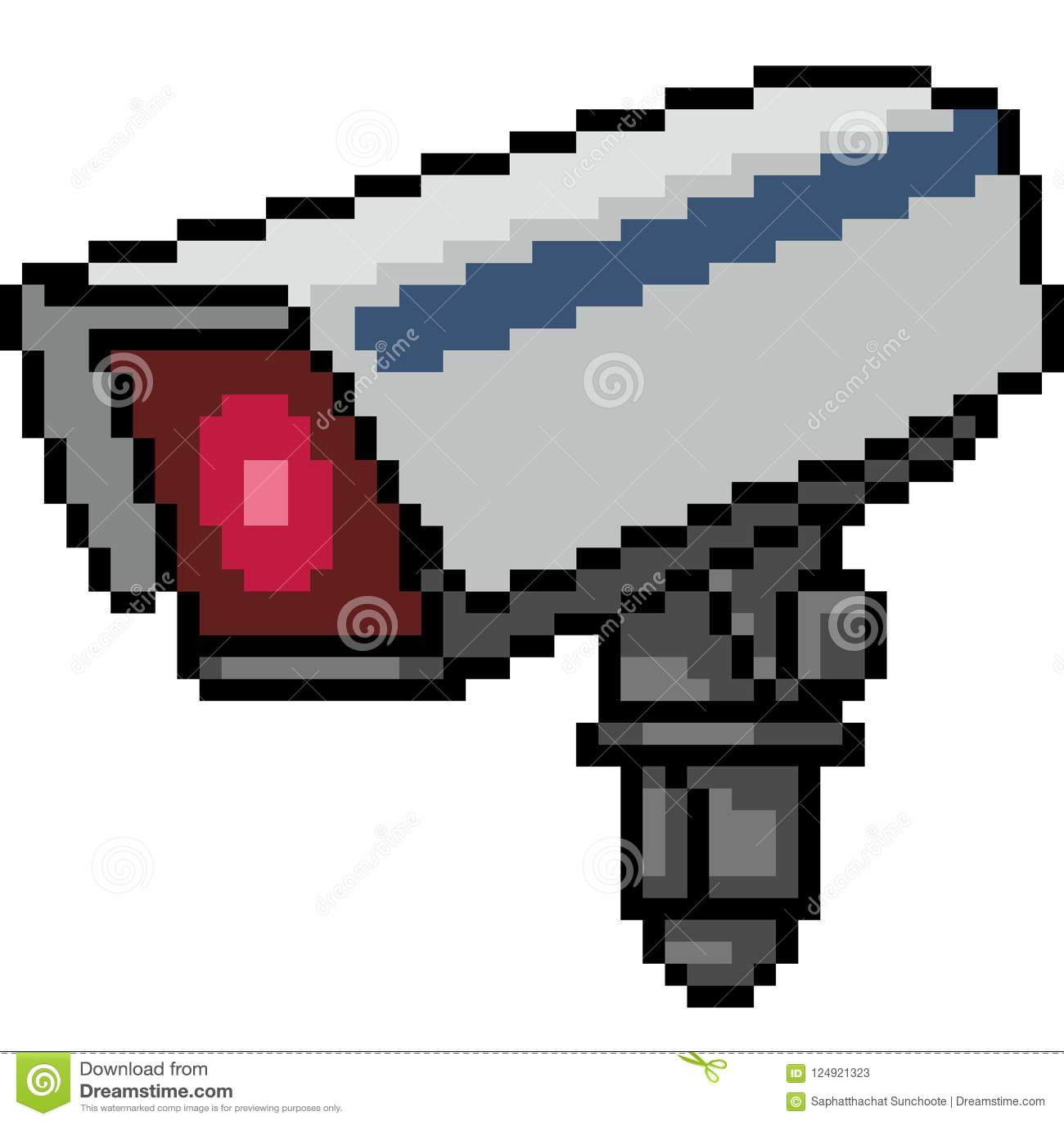 Kamera för vektorPIXELkonst