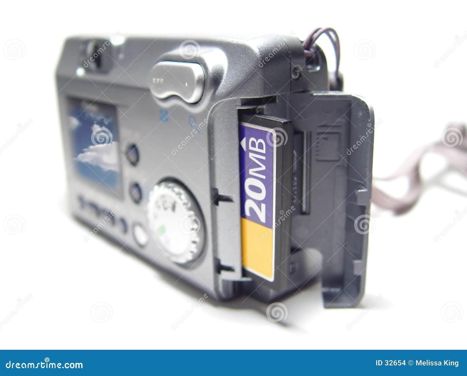 Kamera mit Abbildung auf Bildschirm