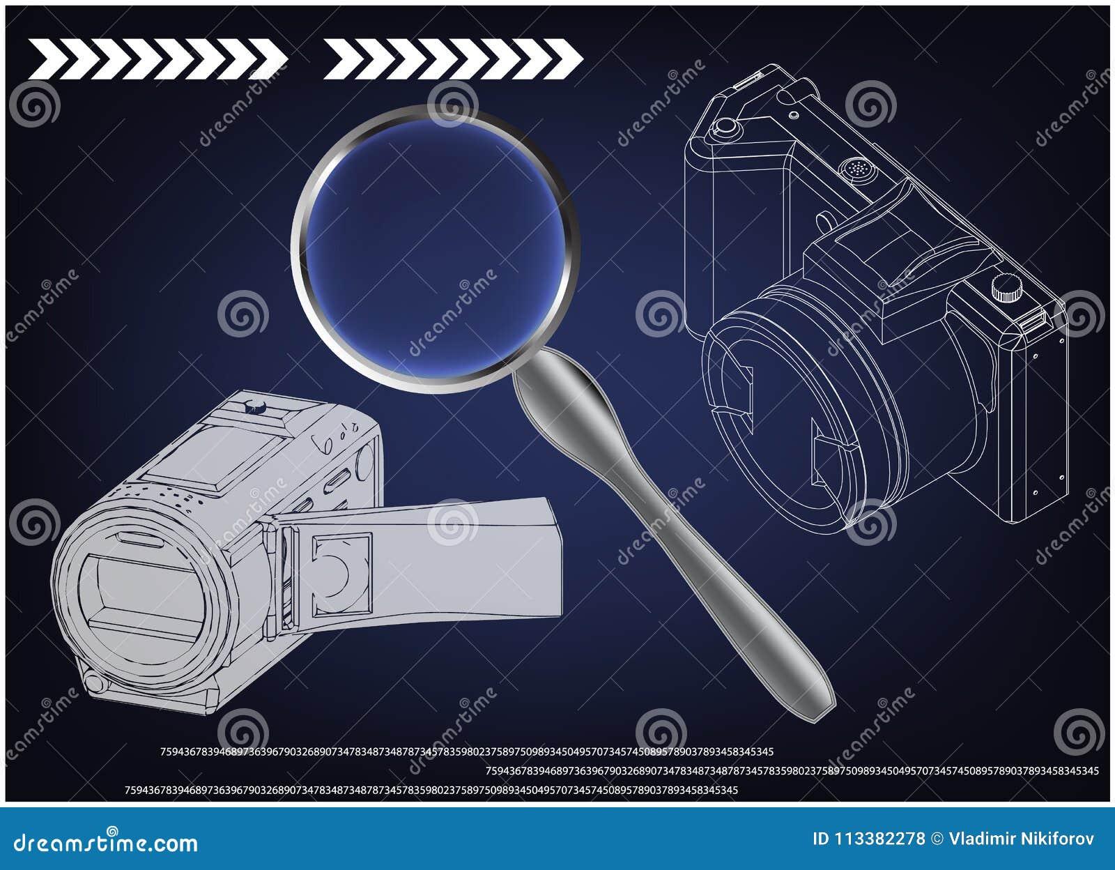 Kamera na błękicie