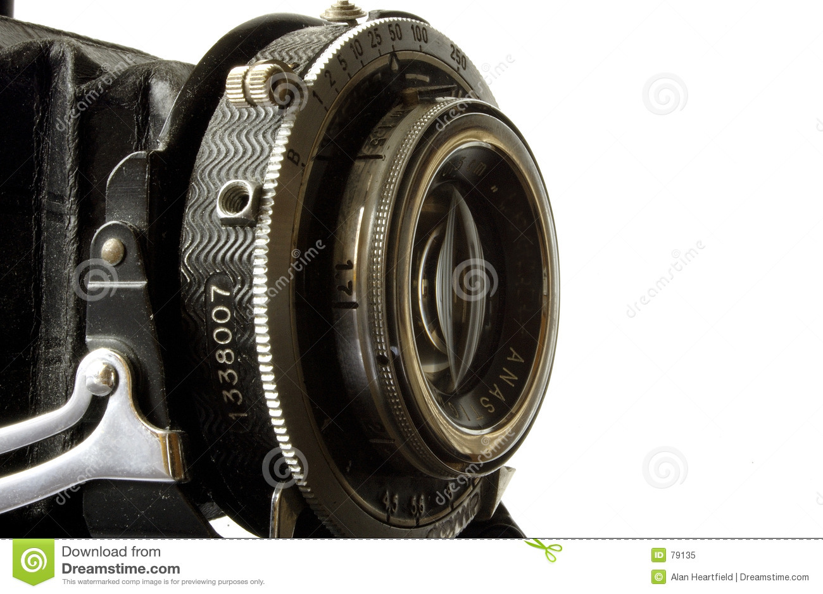 Kamera soczewki stary