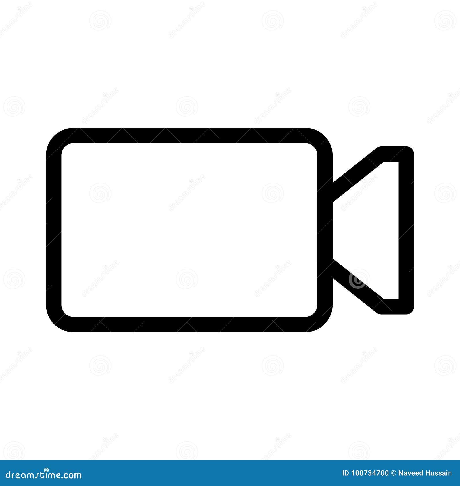 Kamera wideo ikona