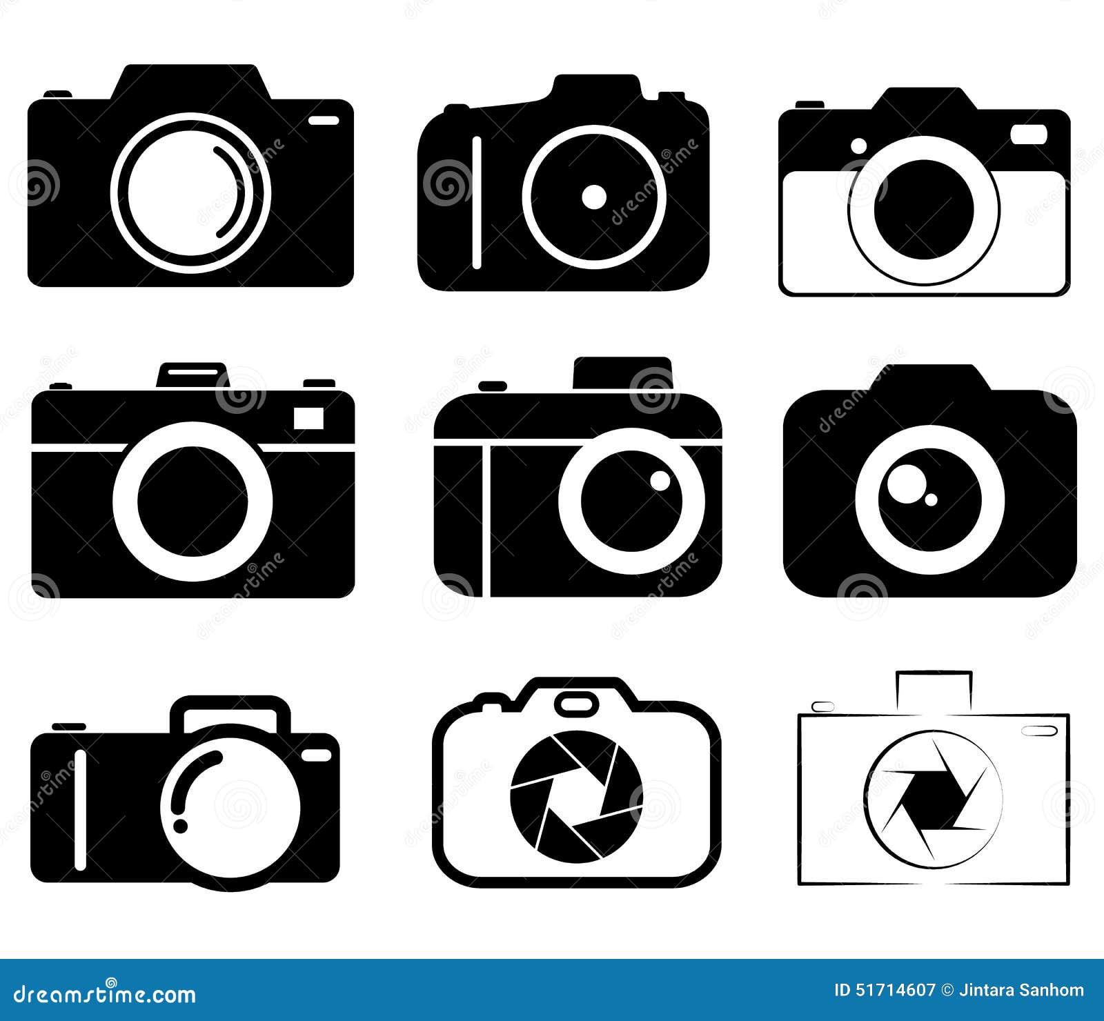 Kamerasymbolslinje samlingsgrupp