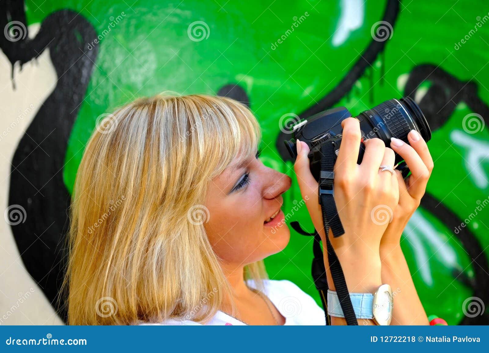 Kamery dziewczyna