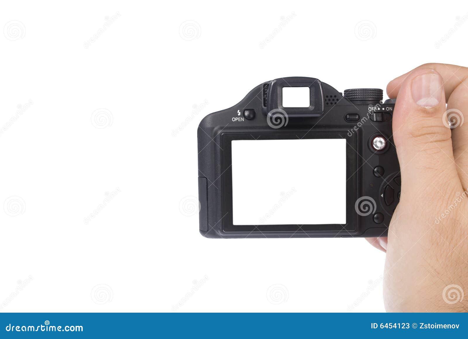 Kamery ręce gospodarstwa zdjęcie
