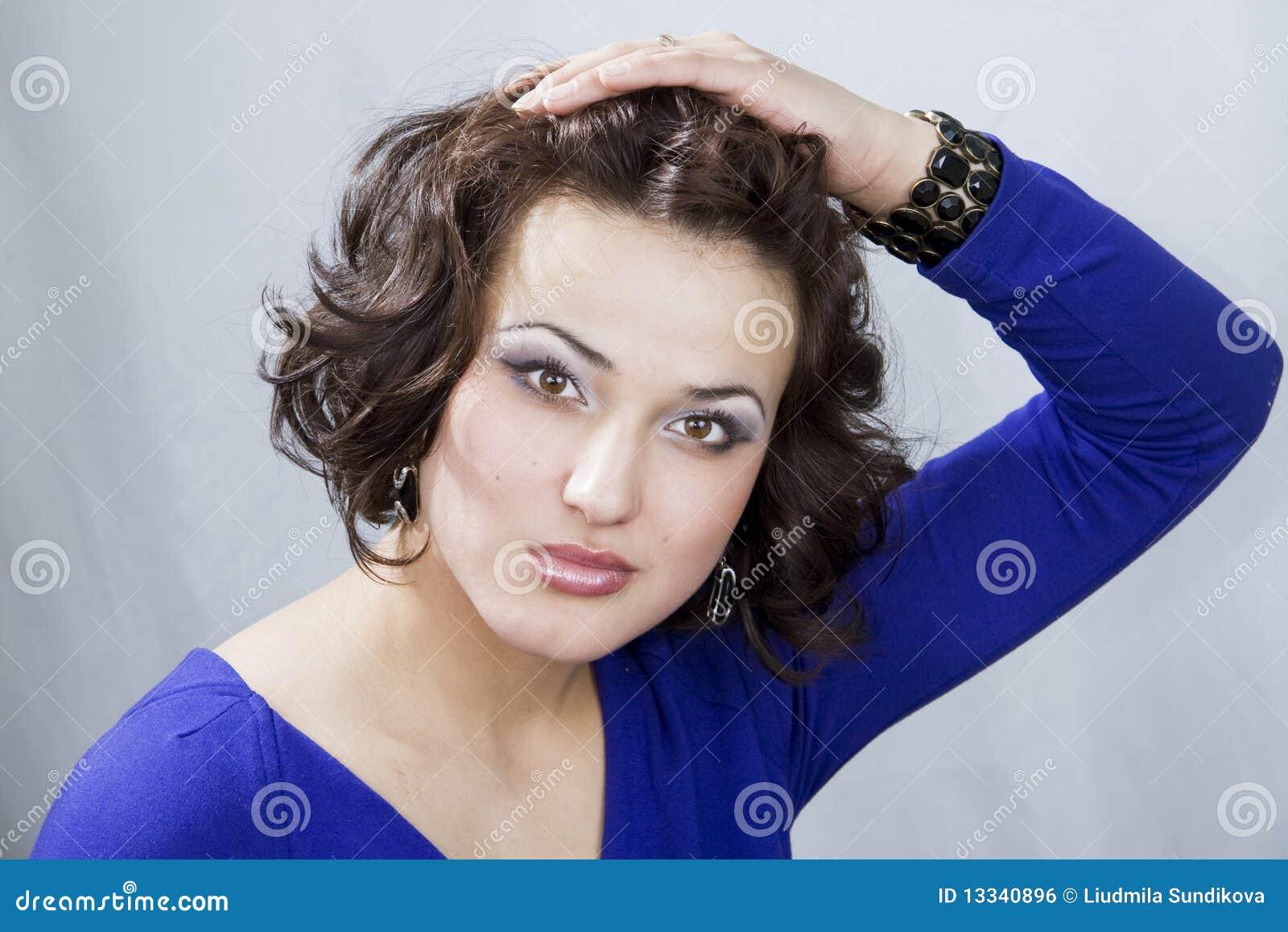 Kamery spojrzenia s kobieta