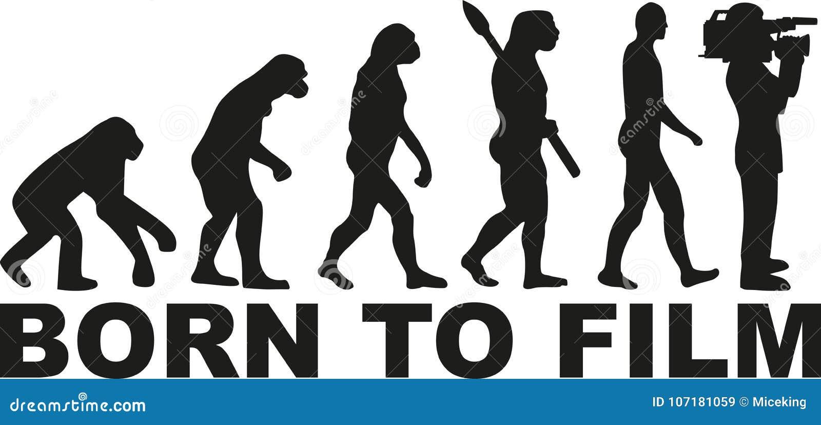 Kamerzysta ewolucja - Urodzona filmować