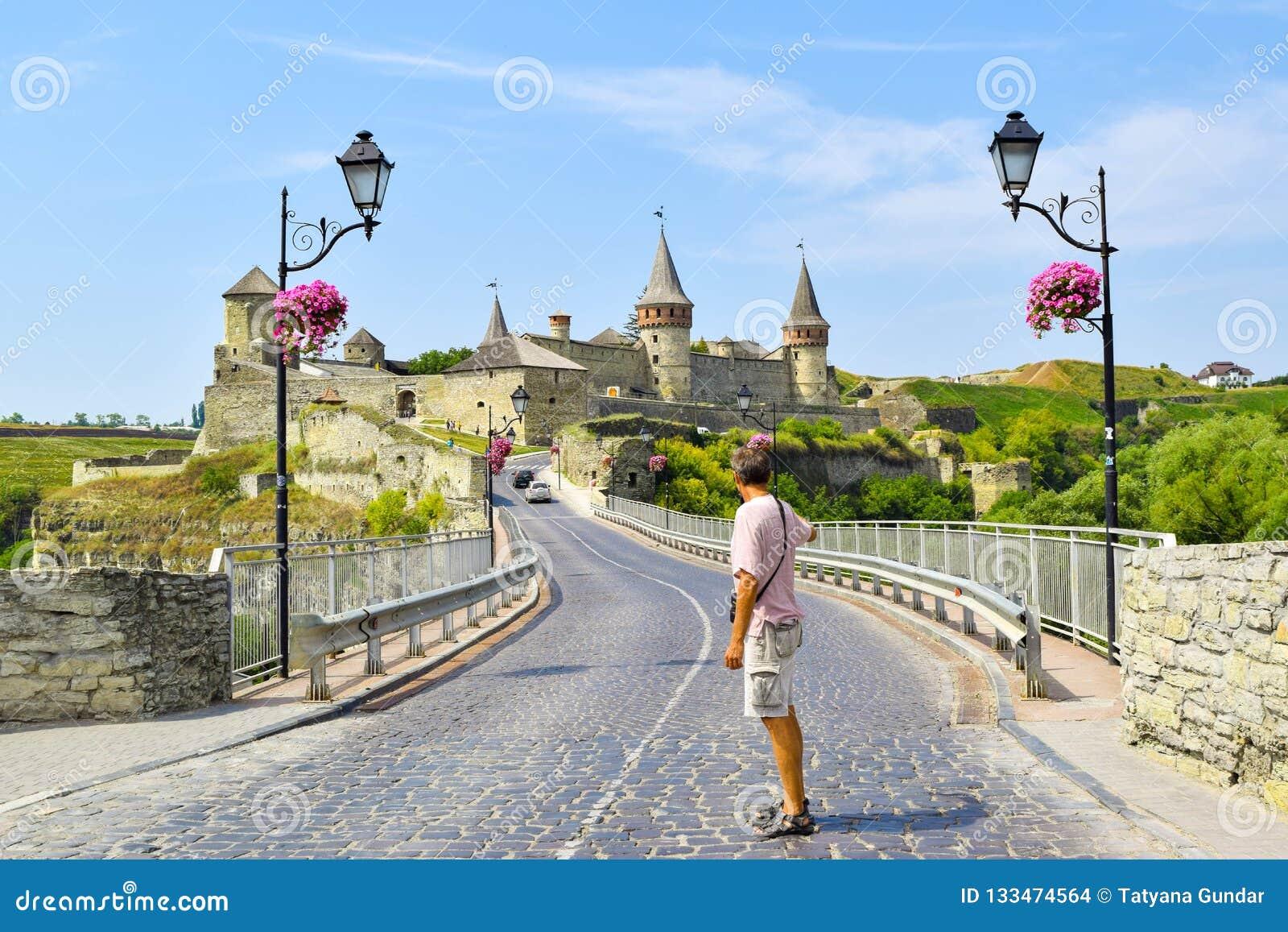 Kamianets-Podilskyi城堡,乌克兰