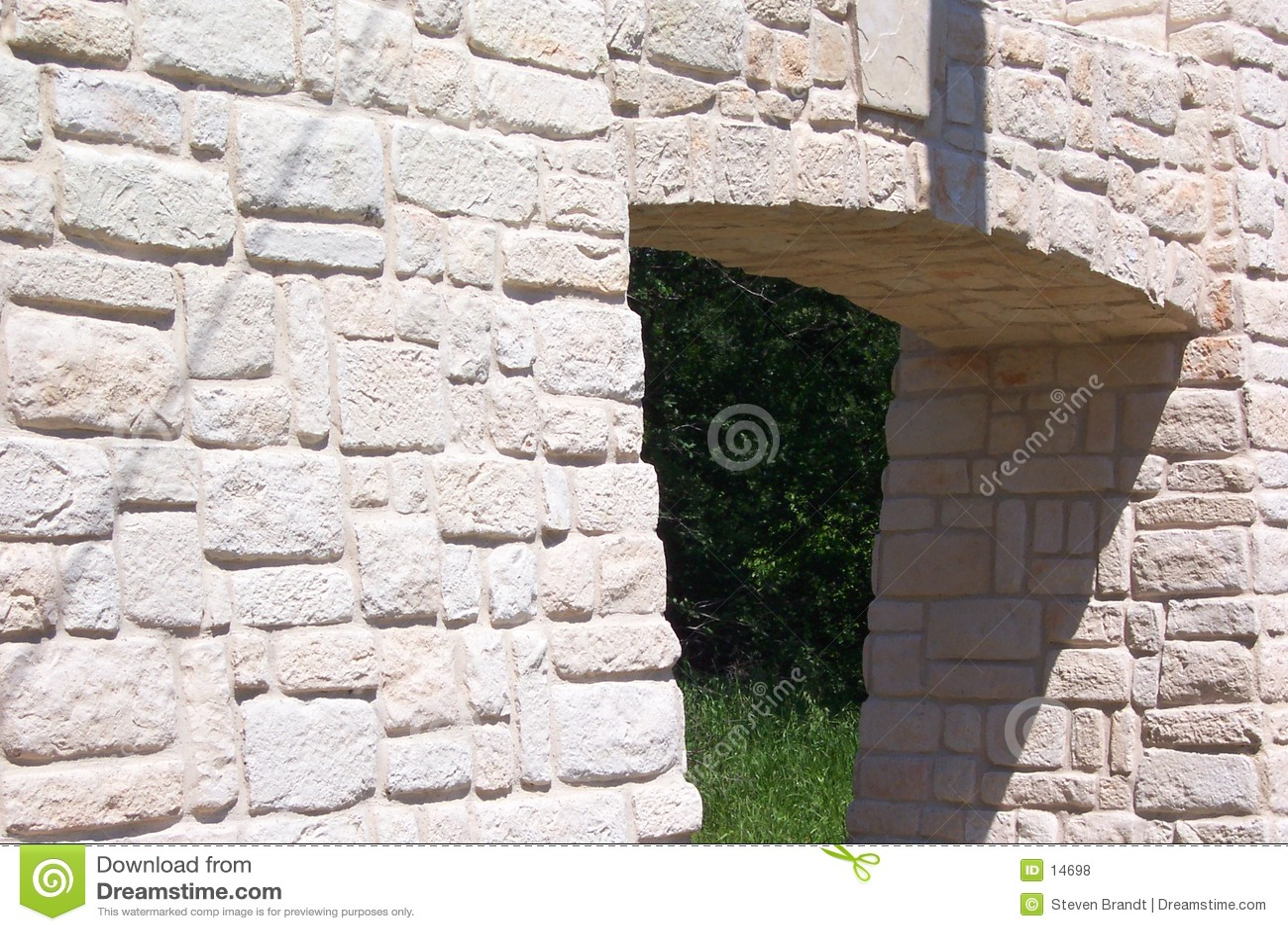 Kamienna ściana