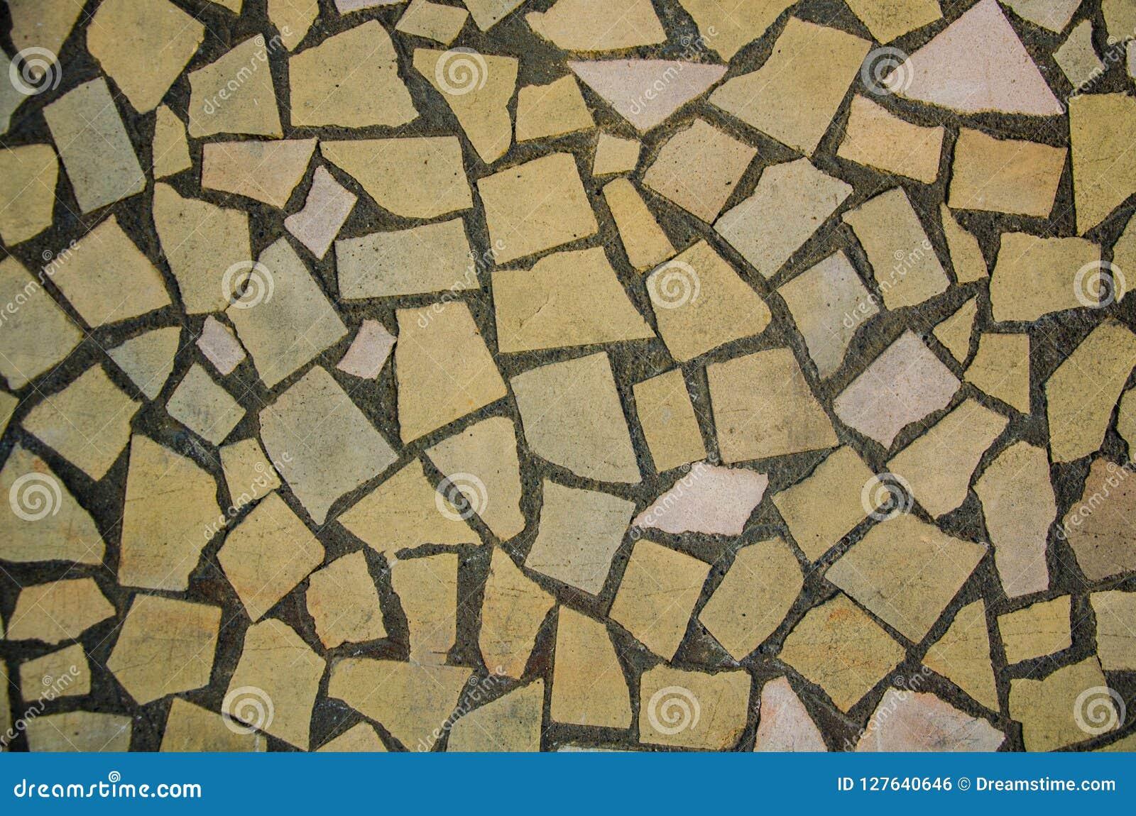 Kamiennej ściany tekstura na ulicznej ścianie