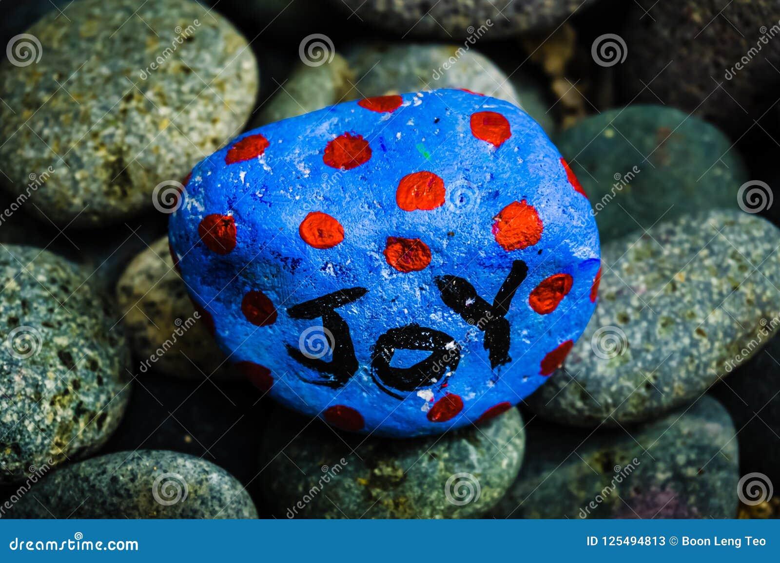Kamienny obraz - radość pisać na nim