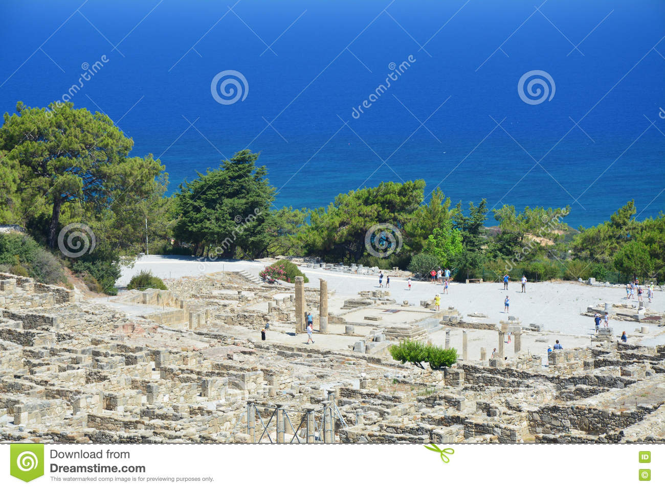 Kamiros - ancient city on Rhodes