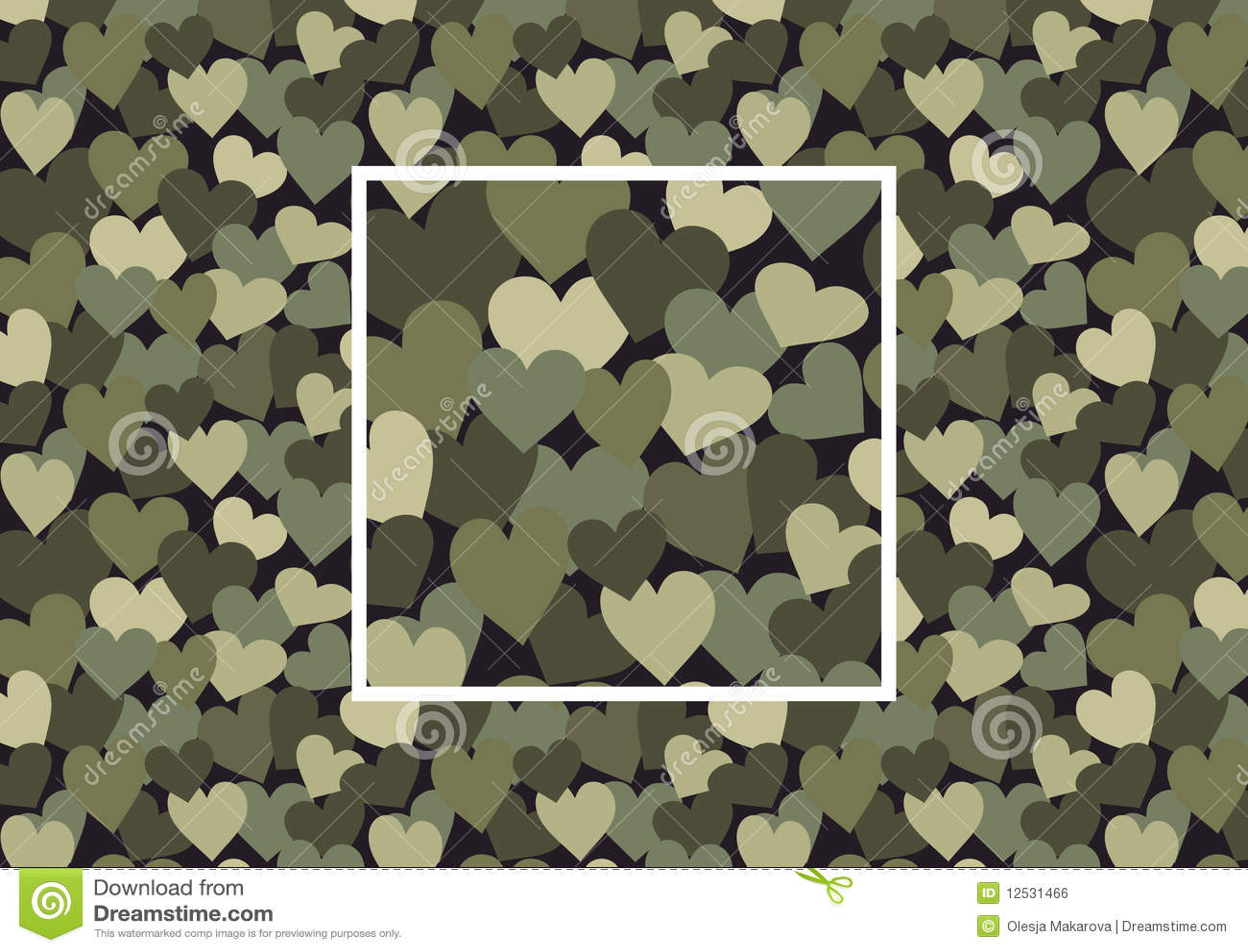 Kamouflagehjärta