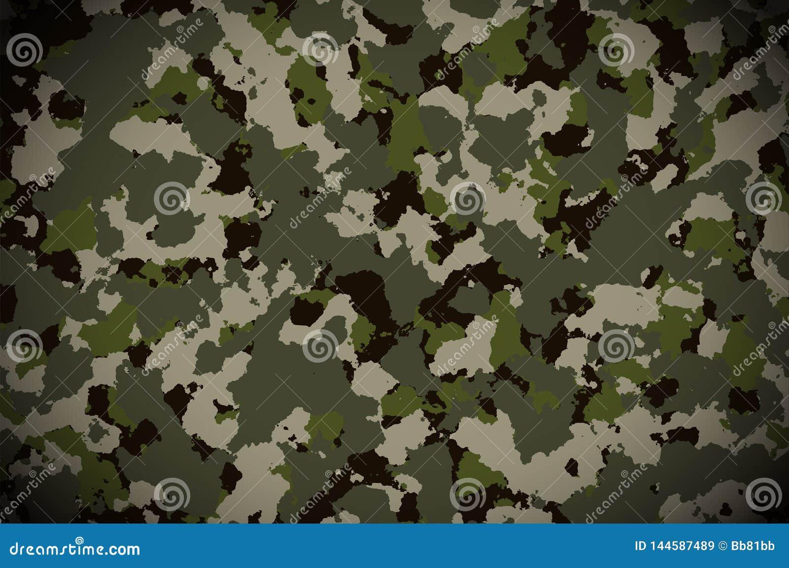 Kamouflagemodellbakgrund Militär kamouflagemodell