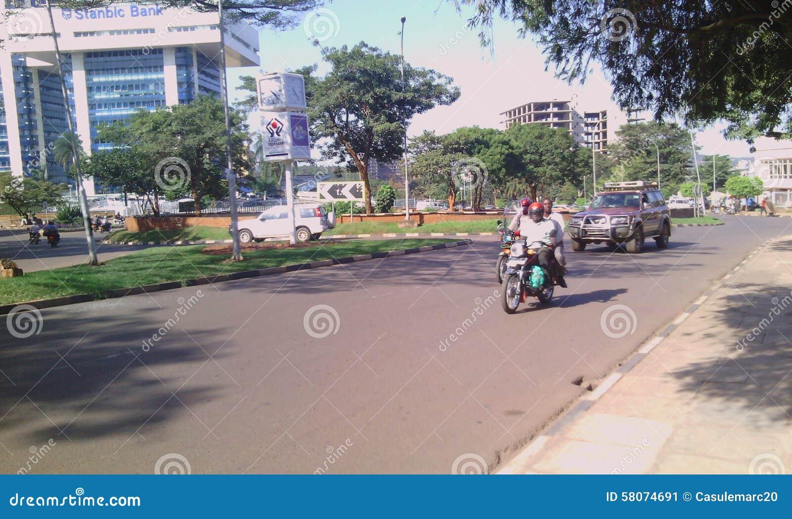 Kampala miasto perła Afryka