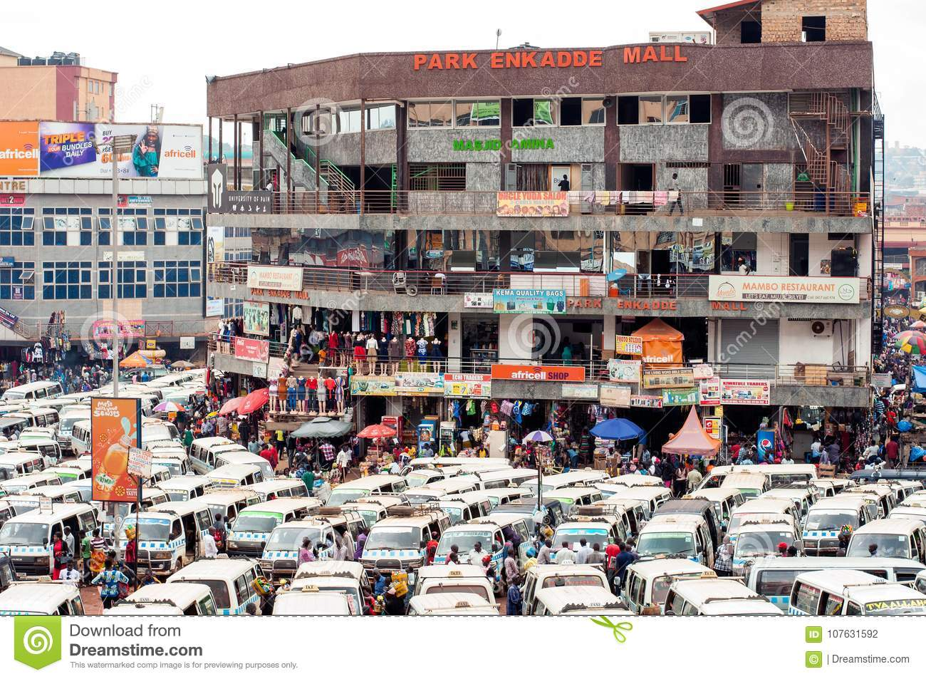 Image result for OLD TAXI PARK MALL KAMPALA