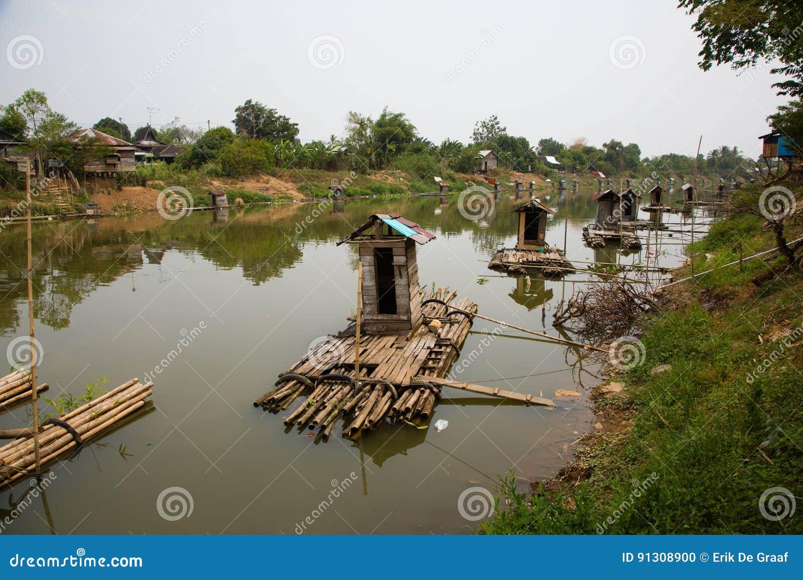 Kampong bathrooms