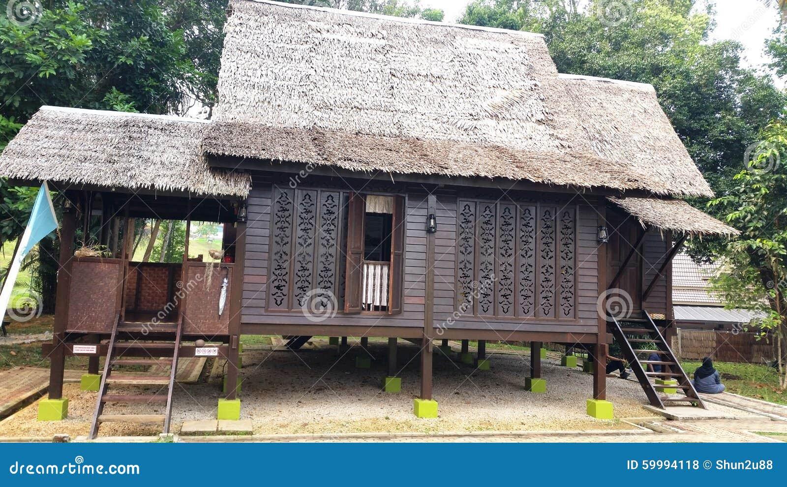 Kampung House Stock Photo - Image: 59994118 - ^