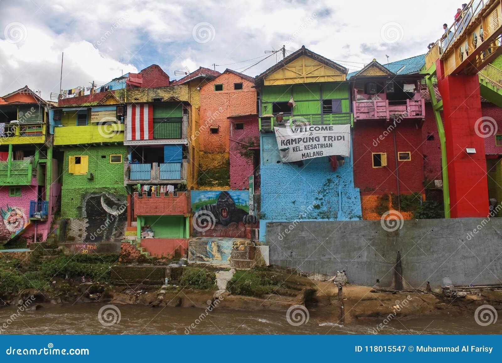 Kampung Warna Warni Kota Malang