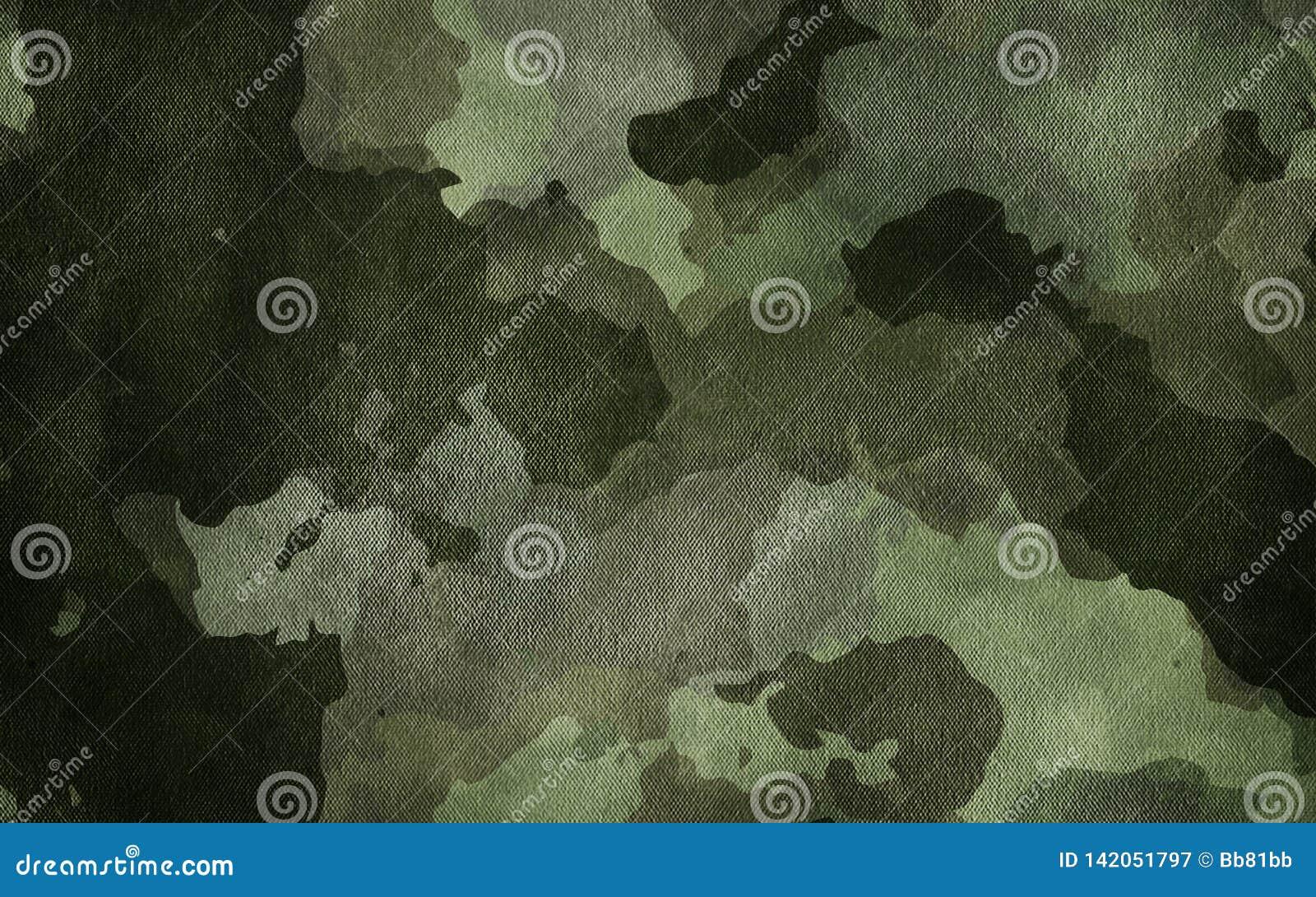 Kamuflaż deseniowa sukienna tekstura Tło i tekstura dla projekta