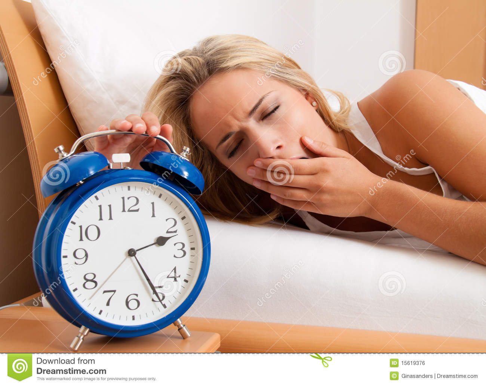 Kan clock den sömnlösa kvinnan för natten