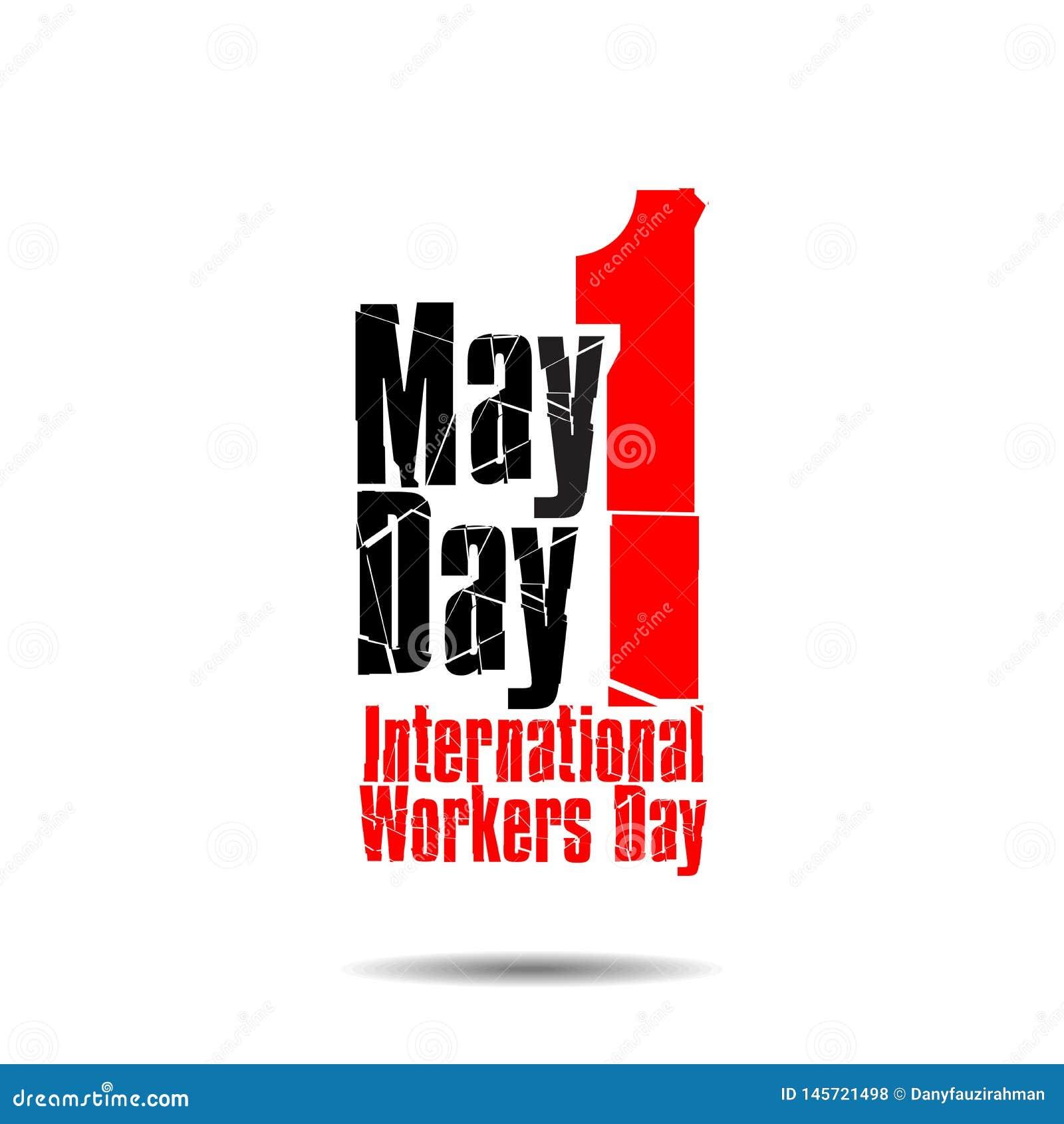 1 kan den internationella arbetardagen flat-01 för dagen