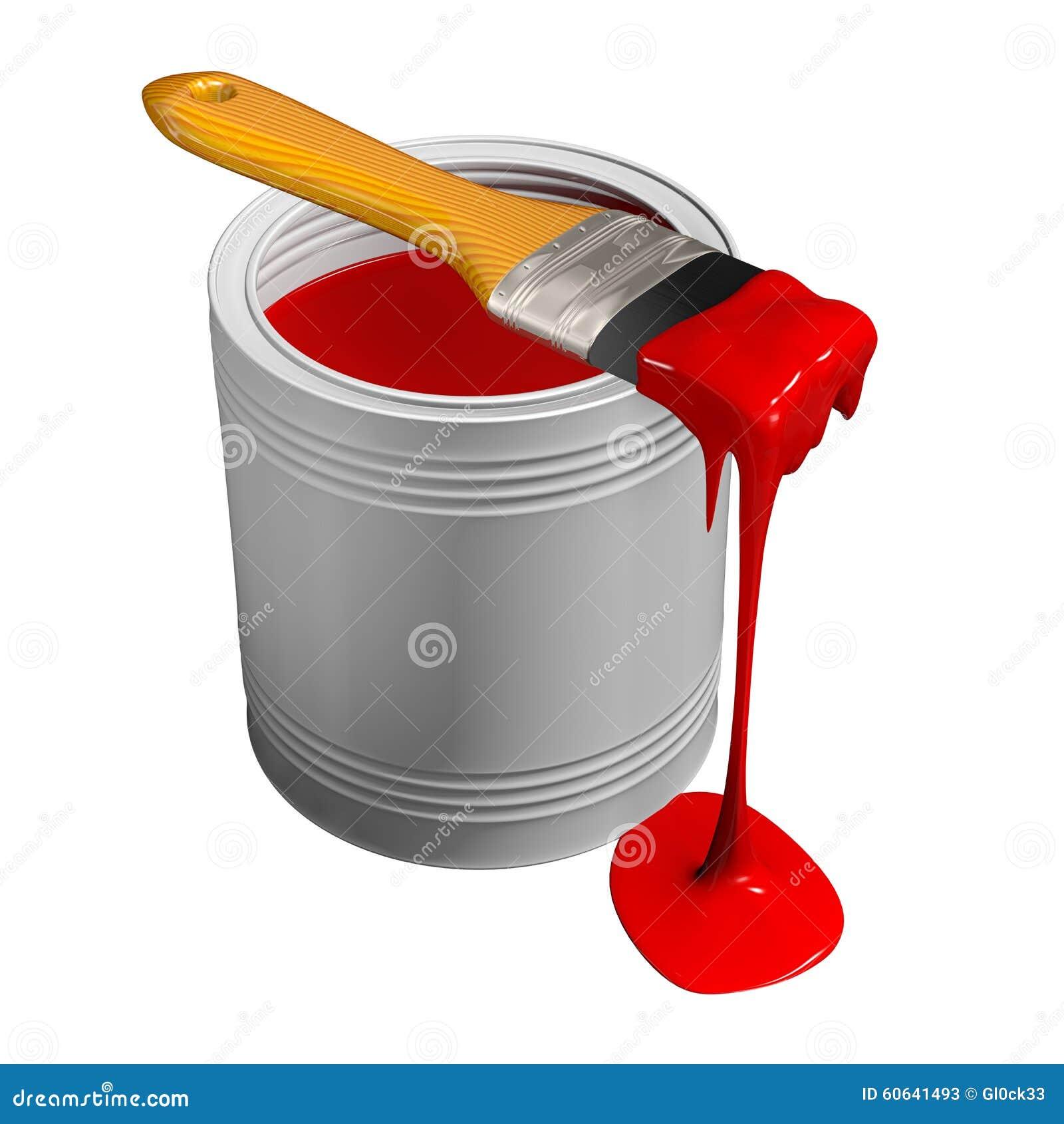 Kan måla paintbrushen