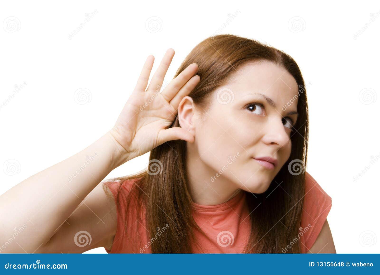 Kan niet u horen!