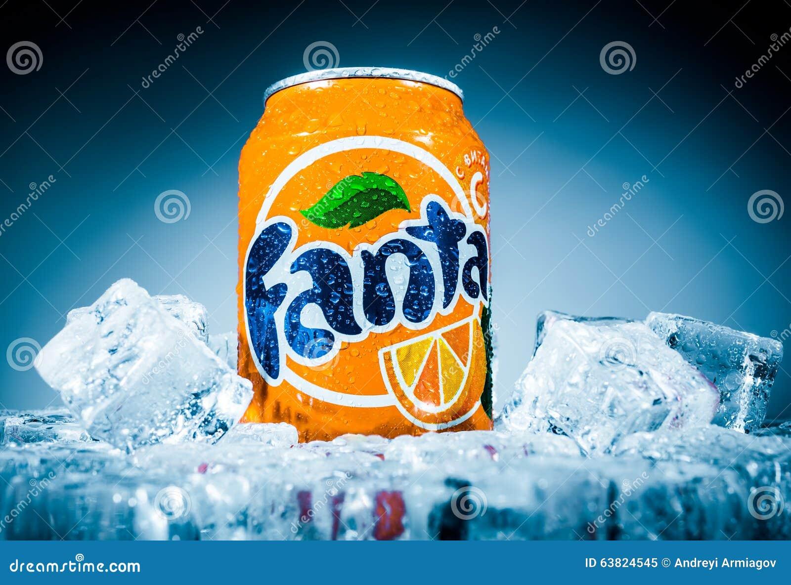 Kan van Fanta Orange