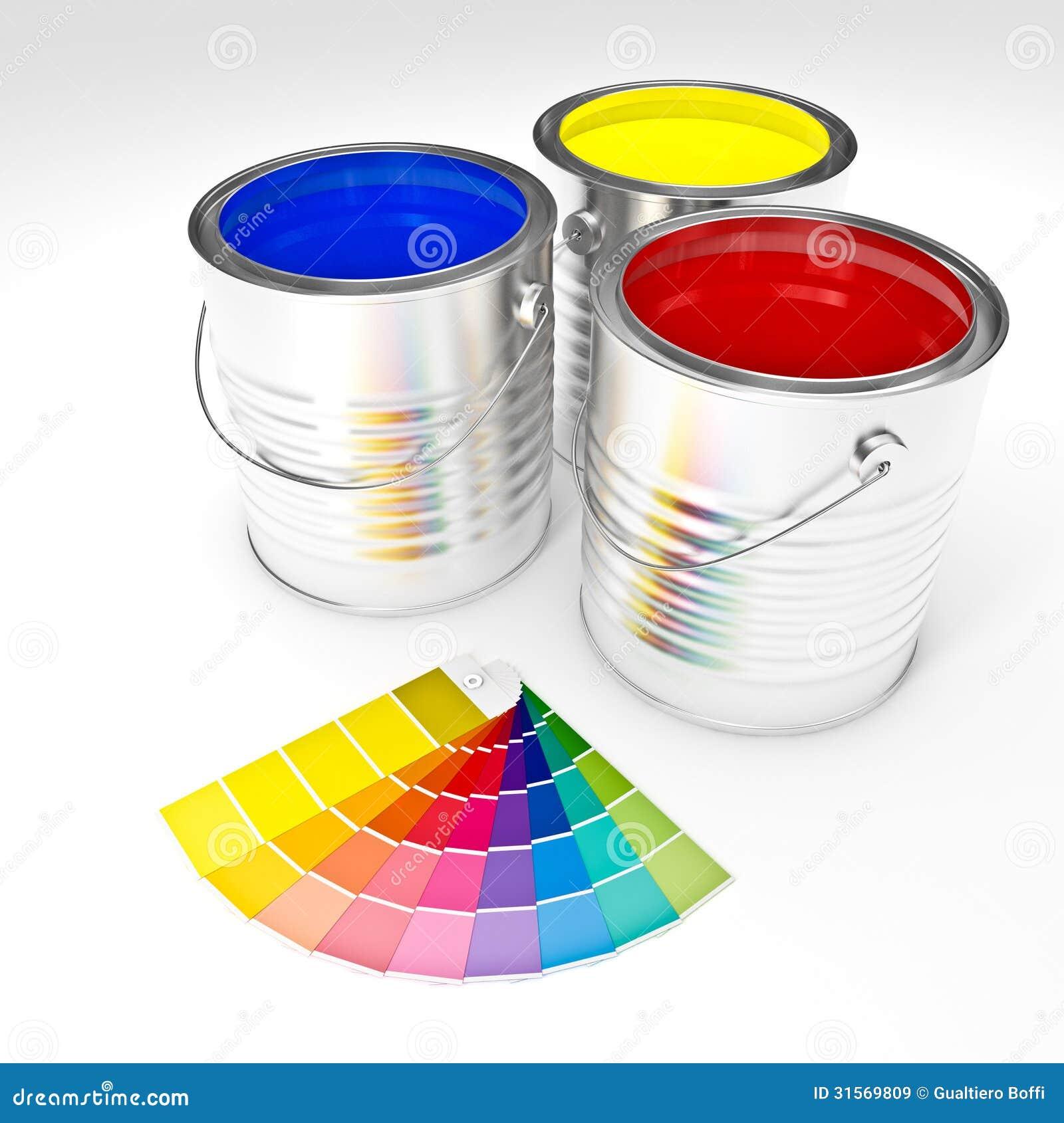 Kan verf kleuren royalty vrije stock afbeeldingen beeld 31569809 - Monster verf ...
