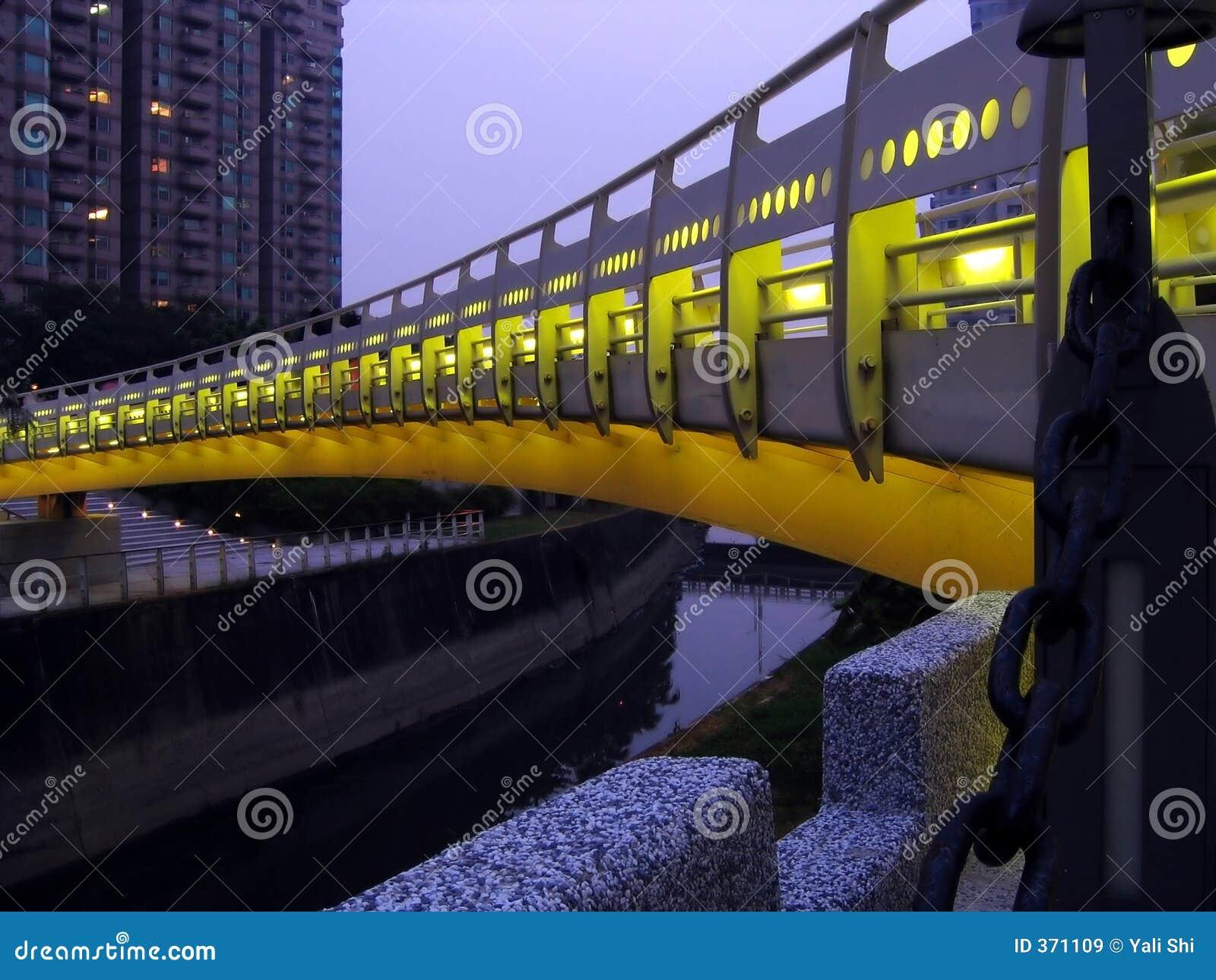 Kanałowa bridge noc