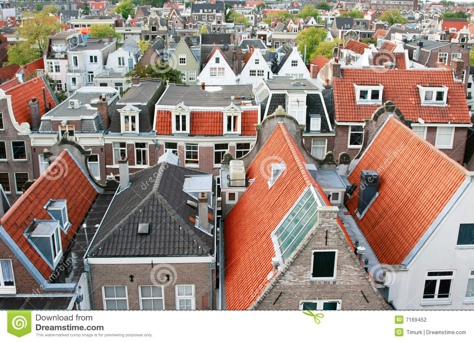 Kanałowi holenderscy domy