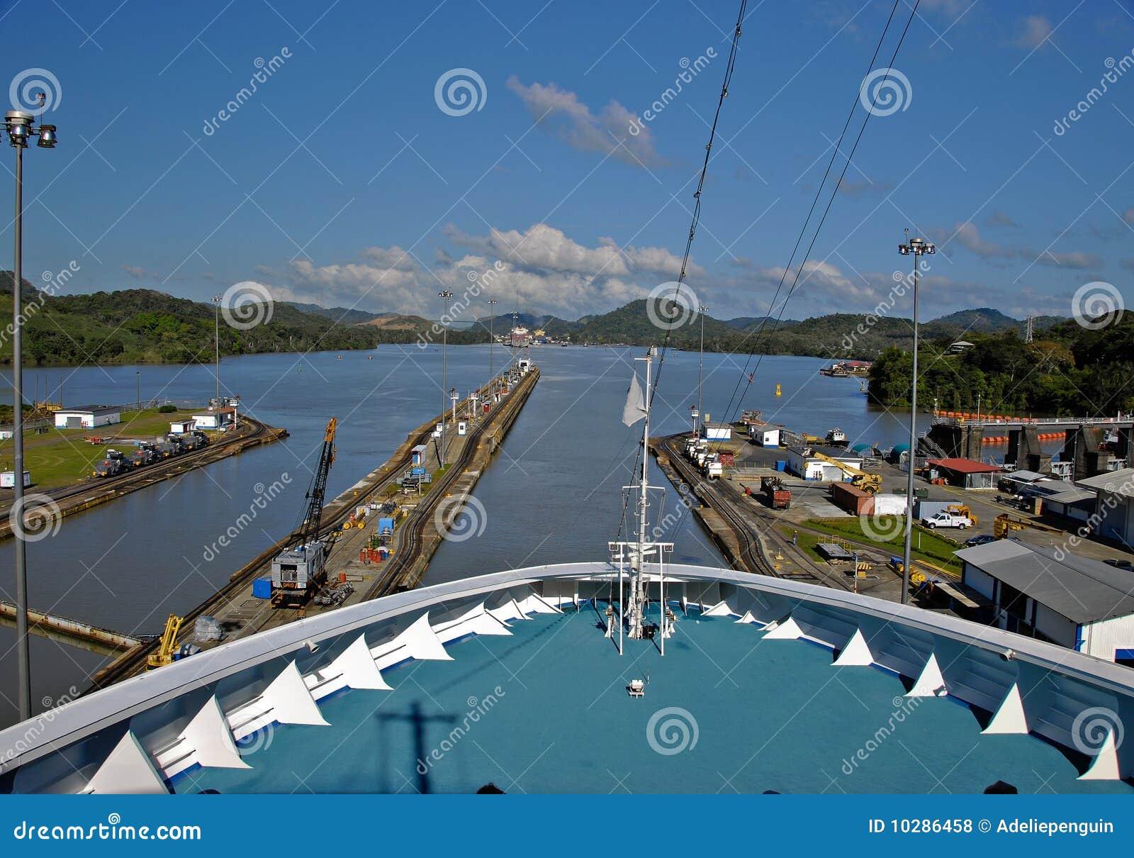 Kanałowy rejsu Panama statek