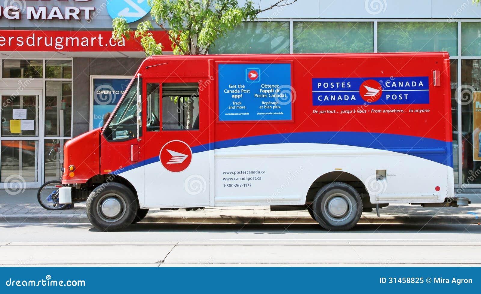 Kanada-Beitrags-Fahrzeug