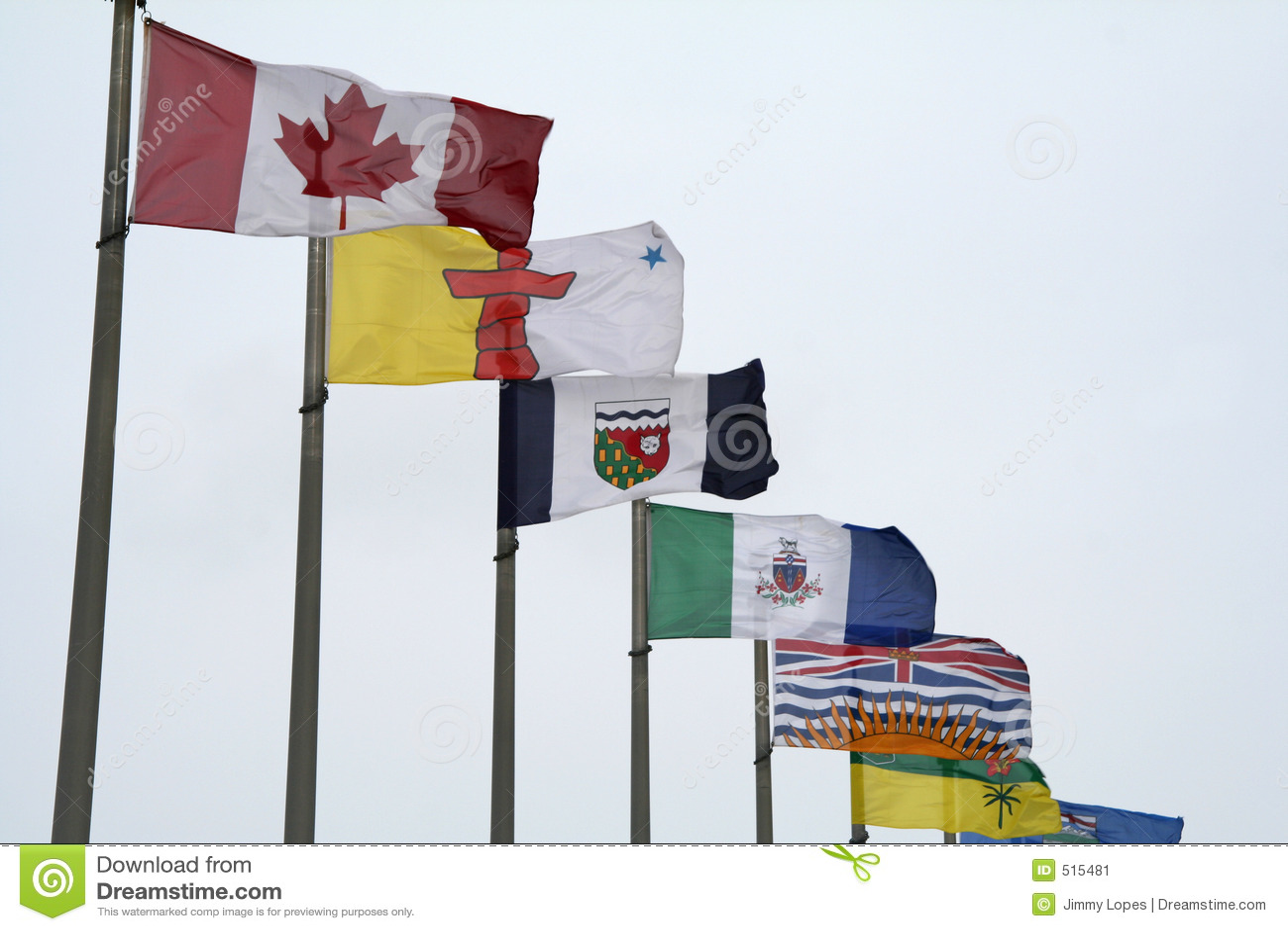 Kanadensiska flaggor