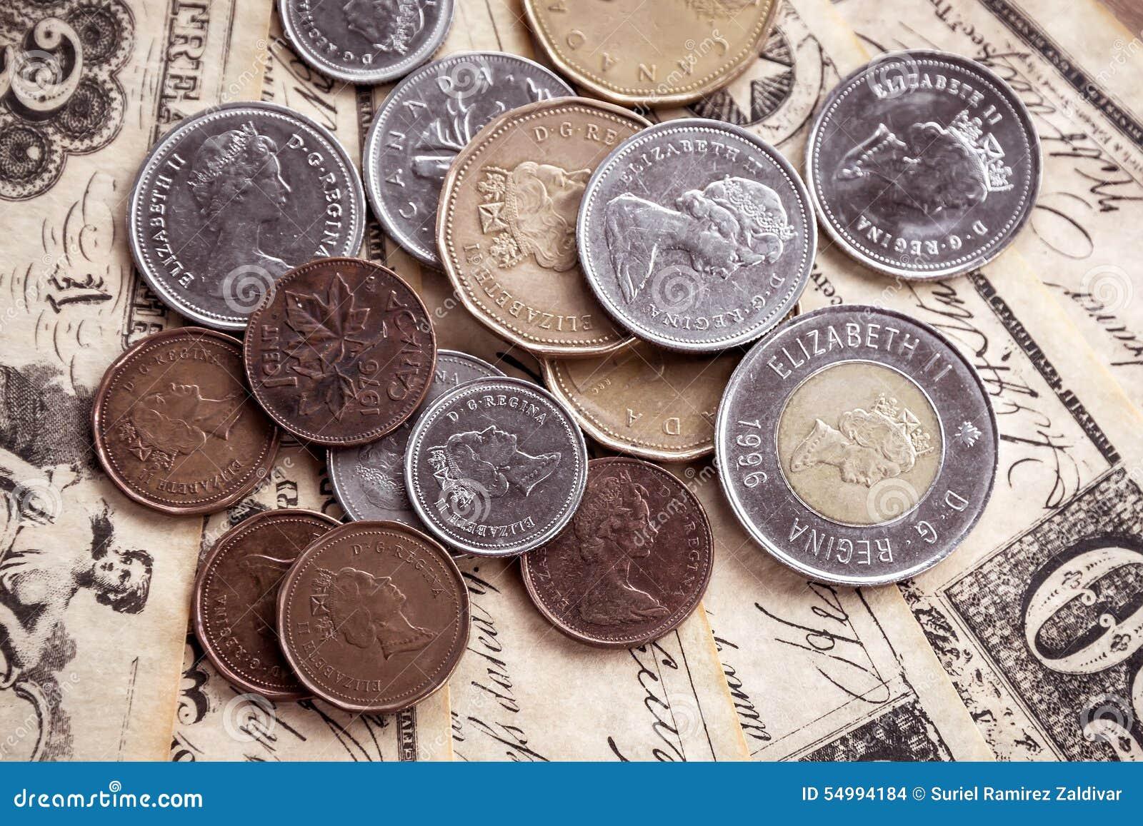 Kanadensiska mynt