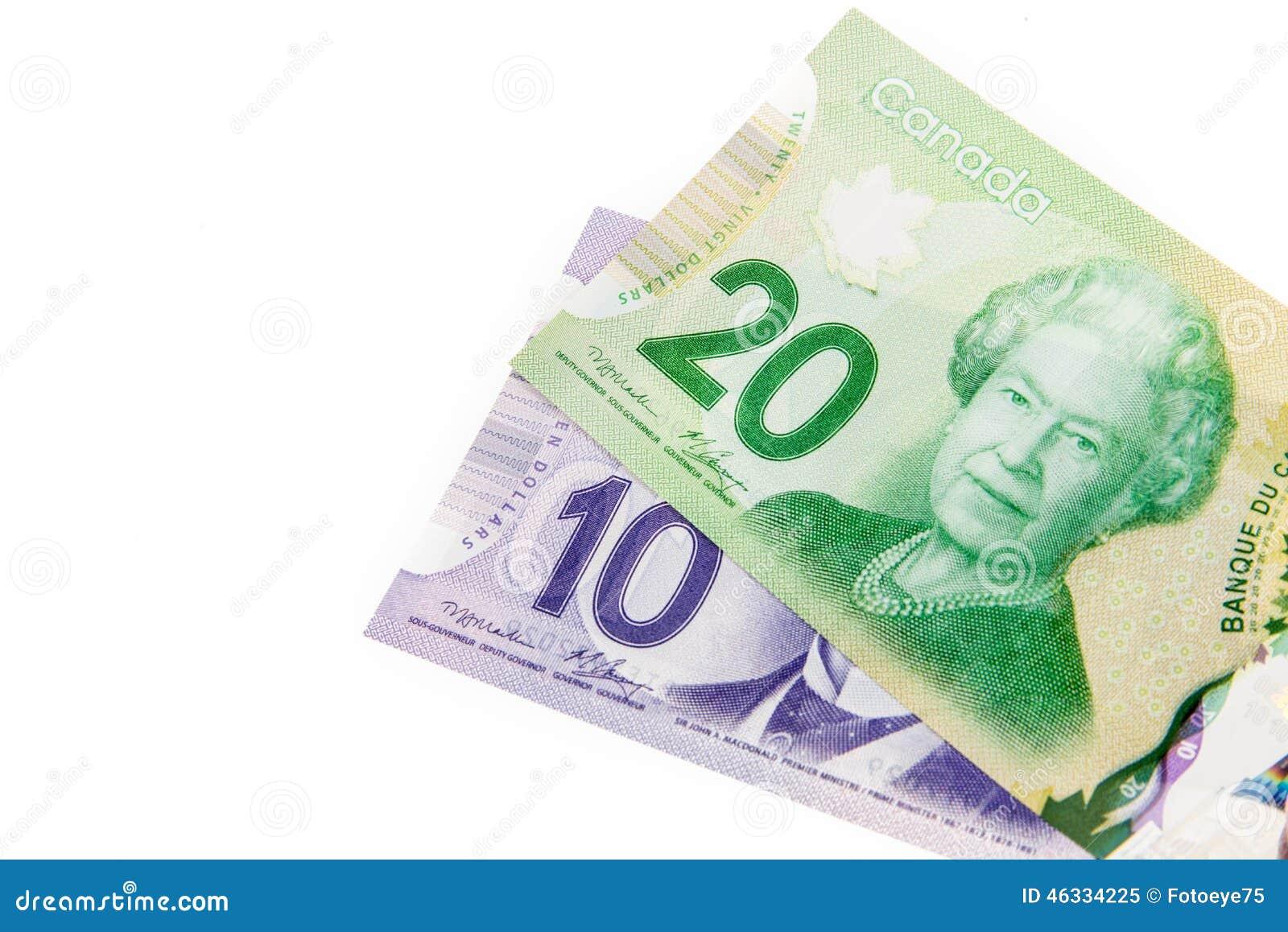 Kanadensiska pappers- pengar