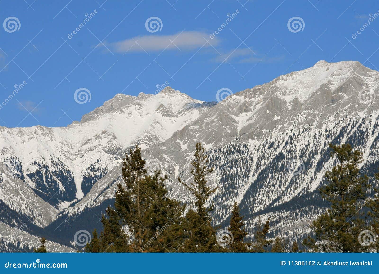 Kanadische felsige Berge