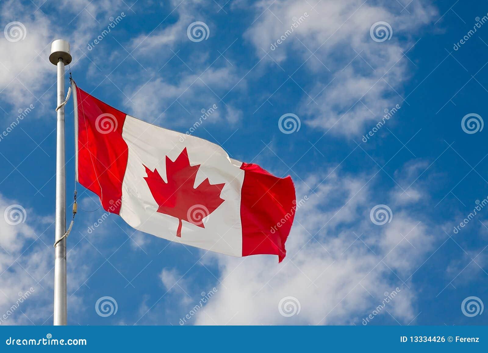 Kanadyjczyk dumnie