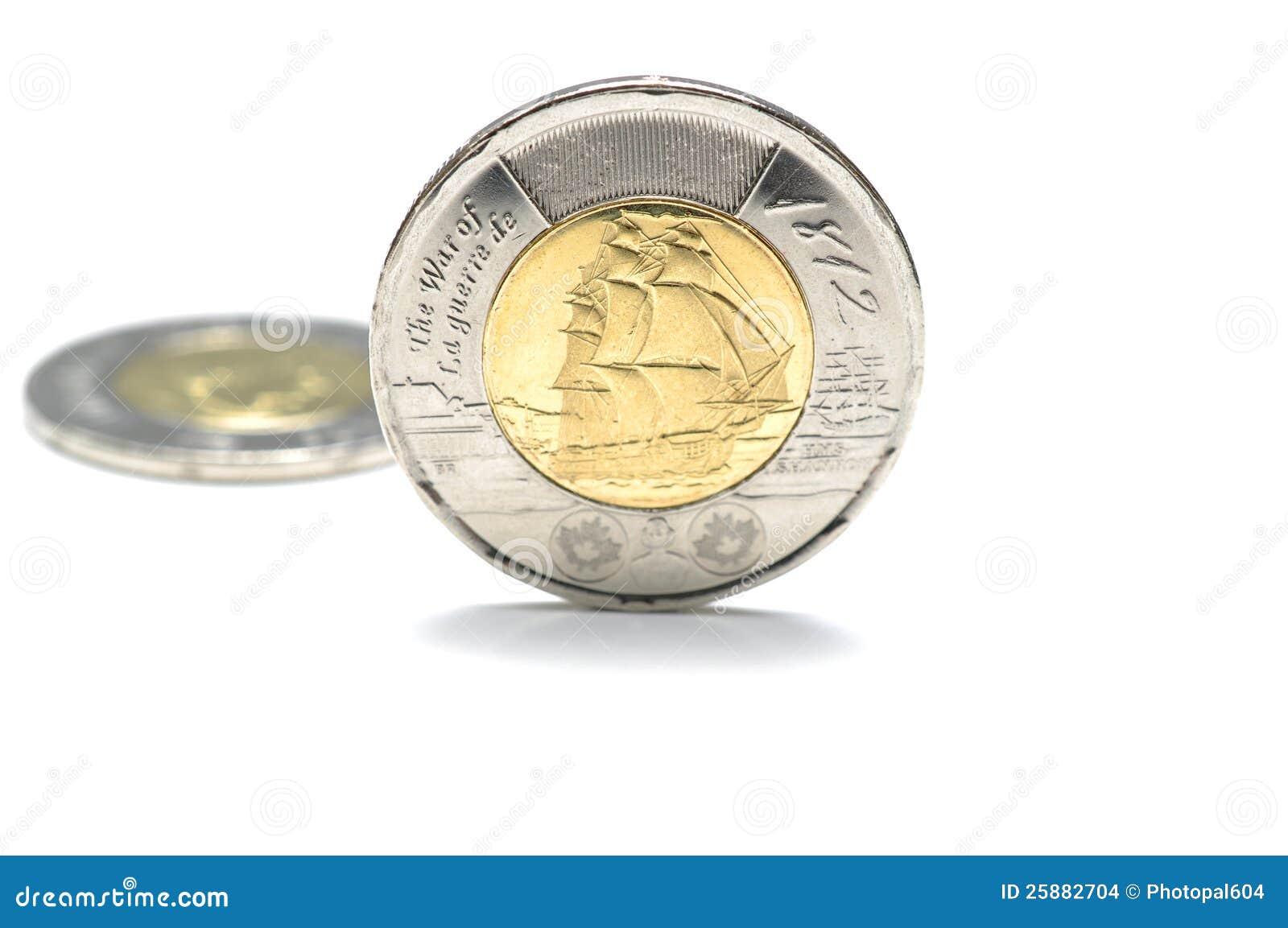 Kanadyjczyk Dwa Dolara Moneta