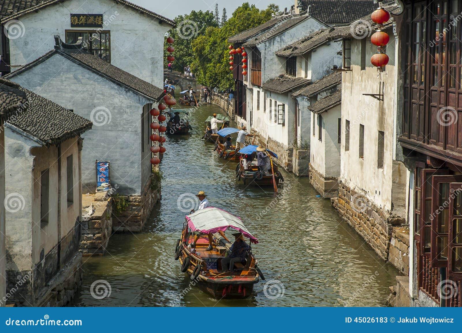 Kanal bei Zhouzhuang