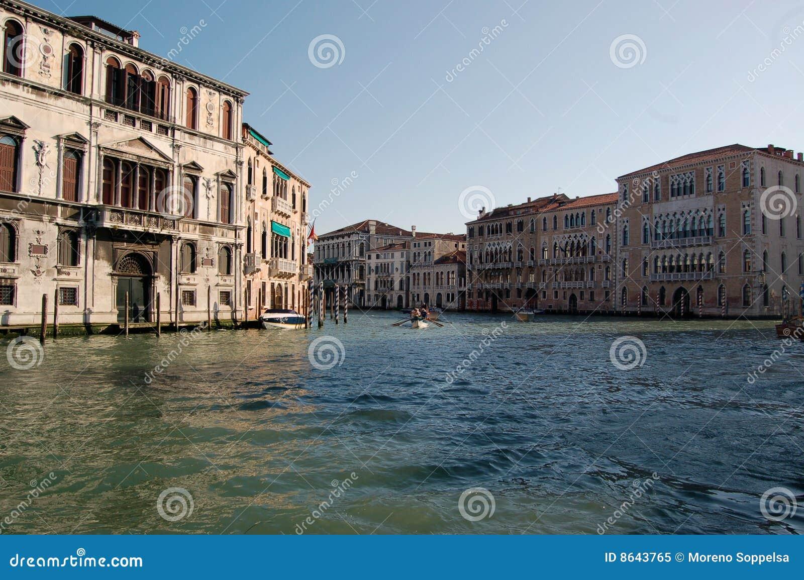 Kanal groß - großartiger Kanal, Venedig