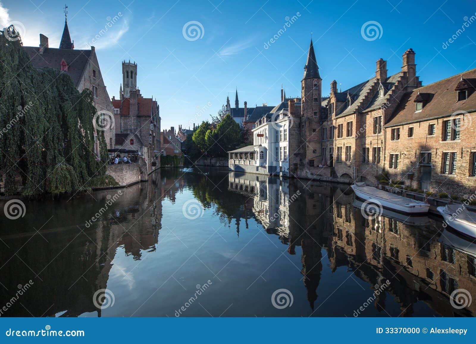 Kanal i Bruges