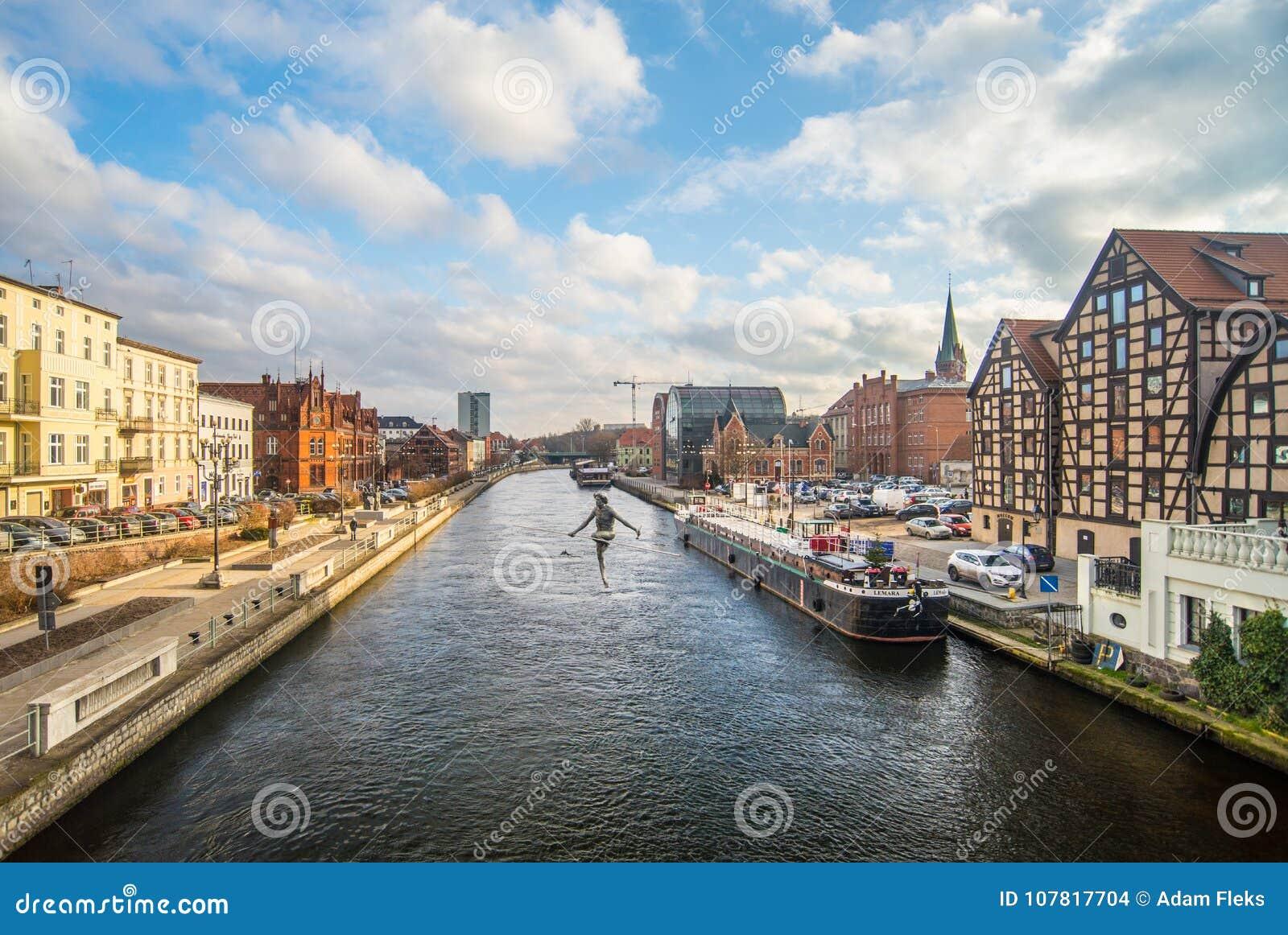 Kanal i Bydgoszcz, Polen