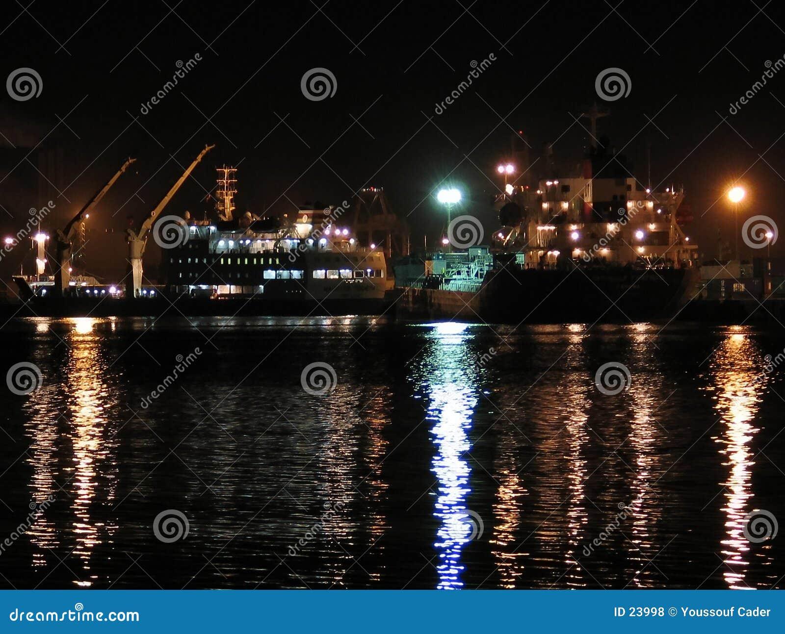 Kanal nachts